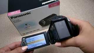 Моя новая КАМЕРА! Panasonic HC V160 обзор