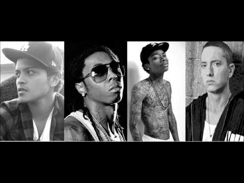 Lil Wayne - Mirror Mashup Ft. Eminem & Wiz Khalifa