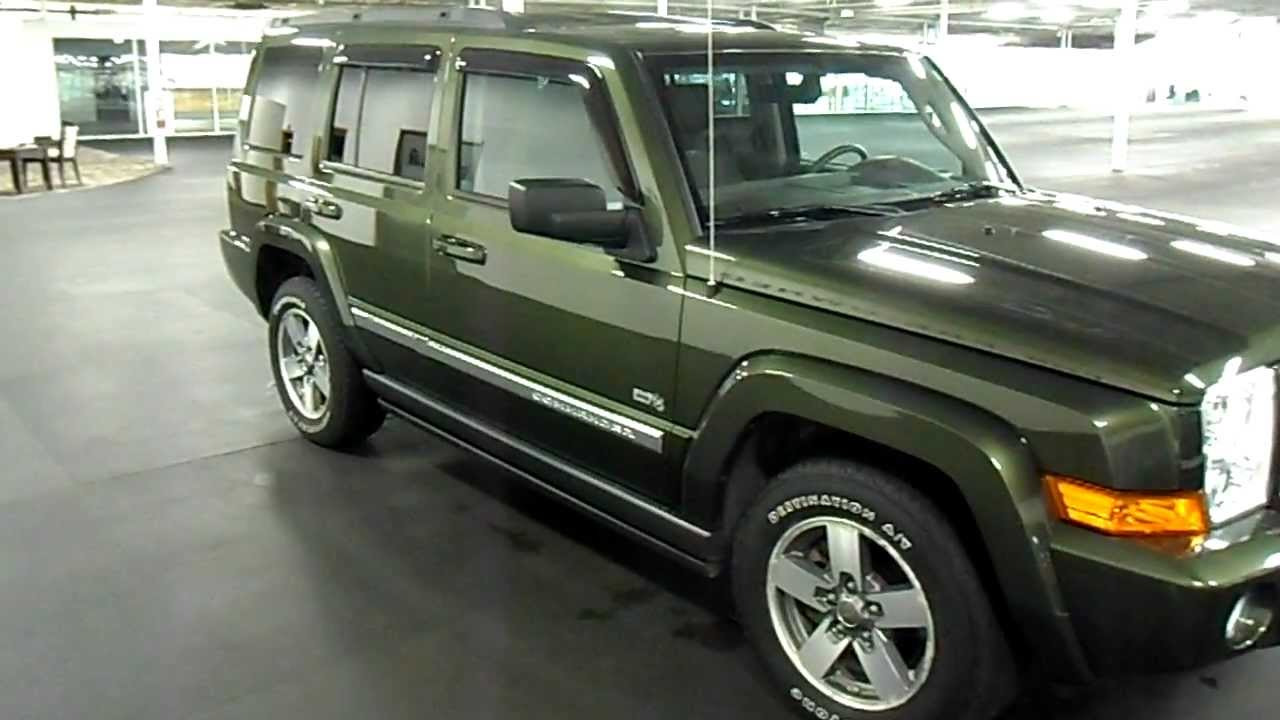 2006 jeep commander 65th anniversary edition - 42k miles - $15,995