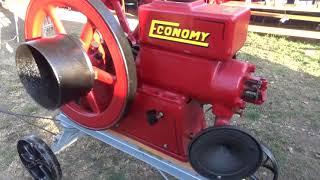 Economy, alacsony feszültségű motor, 1917., Mg-i Gépésztalálkozó, Mezőkövesd, 2017., v170902-6-006