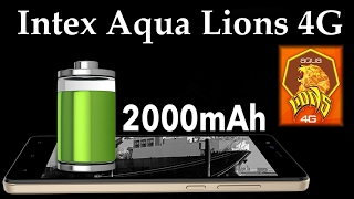 Intex Aqua Lions 4G Specifications, Price, Features and Opinion - By TIIH