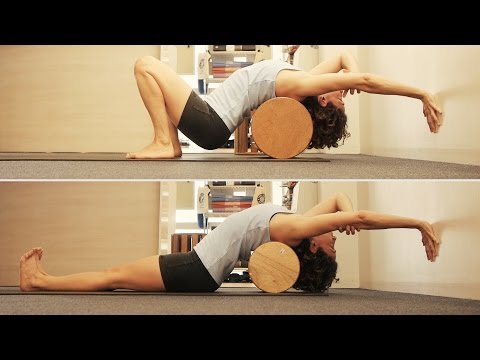 Knoff Yoga Props - The Barrel & The Back Roller