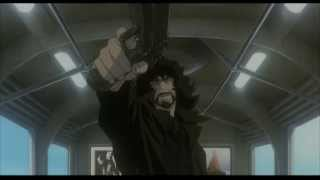Cowboy Bebop Movie [HD] - Train Scene (Spike vs Vincent)