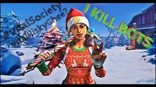 I Kill Bots In Squads (Spam Of Doom)   Fortnite Battle Royale 