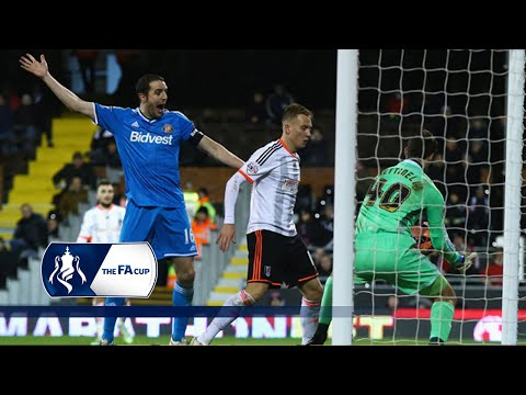 Fulham 1-3 Sunderland (Replay) - 2014/15 FA Cup (R4) | Goals & Highlights