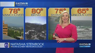 5 p.m. Friday evening forecast KOIN 6 News July 20, 2018