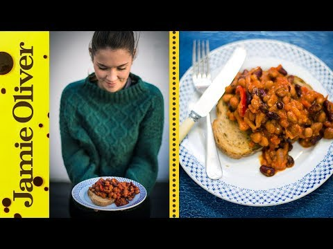 Healthy Baked Beans | Katie Pix