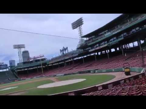 Taking a Tour of Fenway Park in Boston