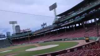 Taking a Tour of Fenway Park in Boston