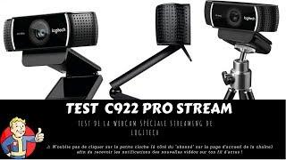 Test C922 Logitech