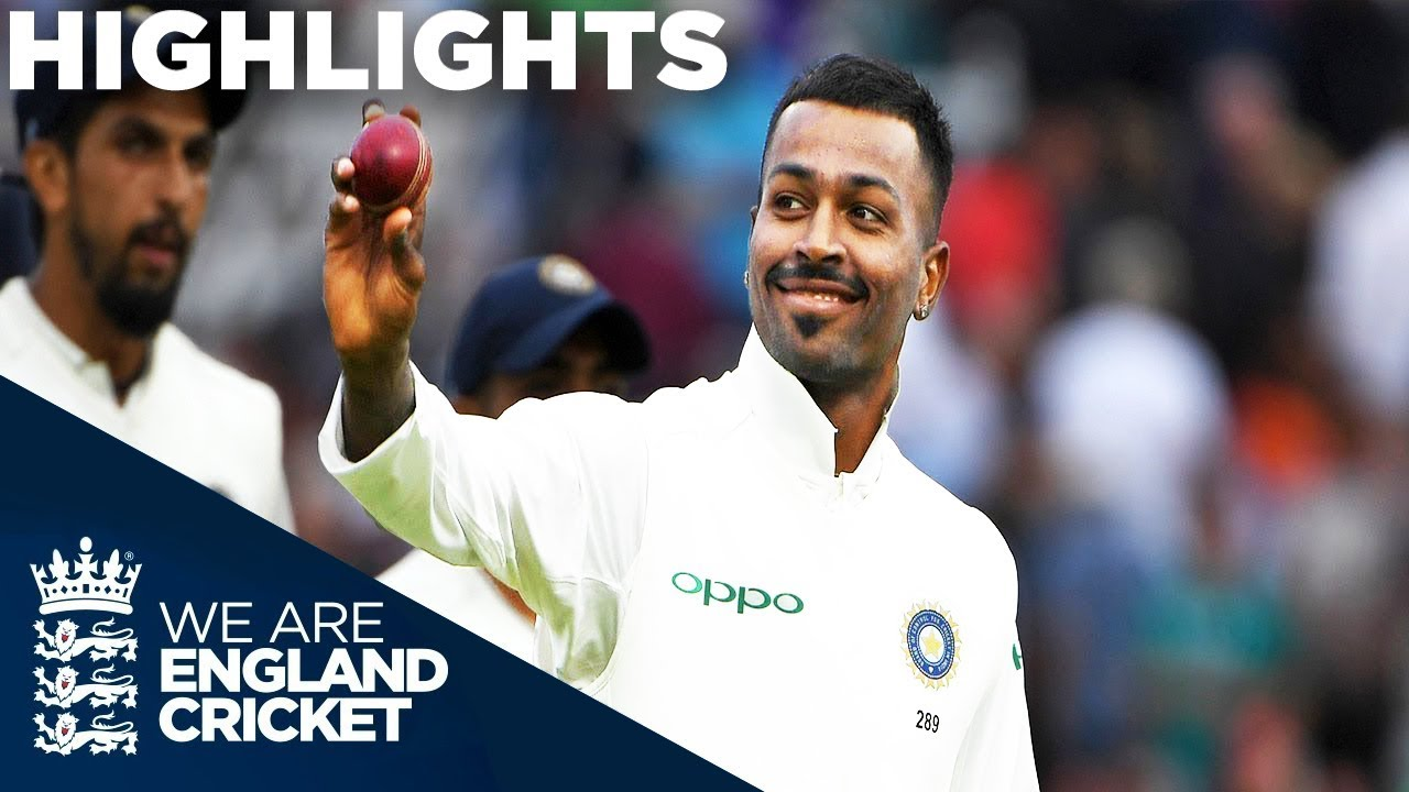 Pandya Stars As England Collapse | England v India 3rd Test Day 2 2018 - Highlights