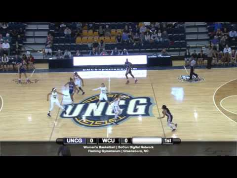 UNCG Women's Basketball vs. Western Carolina