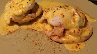Classic EASY eggs Benedict recipe - lobster Benedict - with EASY fool proof hollandaise sauce!!!