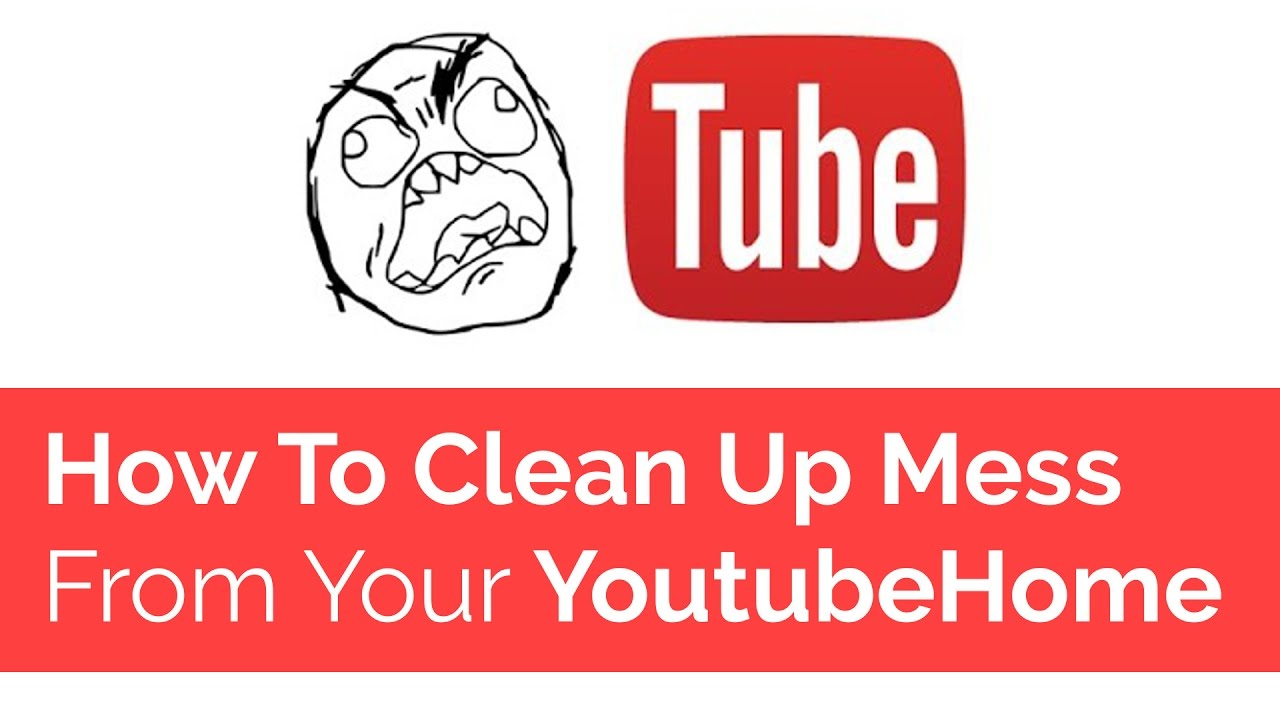how to clear youtube history without account