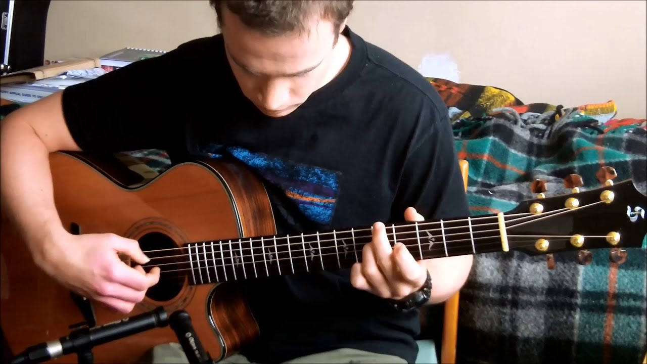 Black Is The Colour Solo Acoustic Guitar Youtube