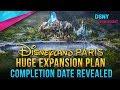 COMPLETION DATE Revealed for Disneyland Paris Expansion Plans - Disney News - 10/9/18