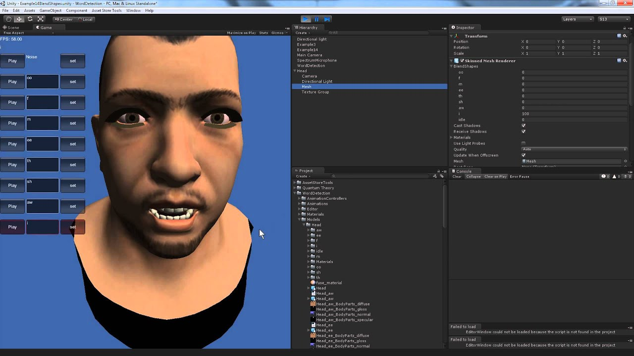 Exporting Morph Maps from Modo to Unity as BlendShapes