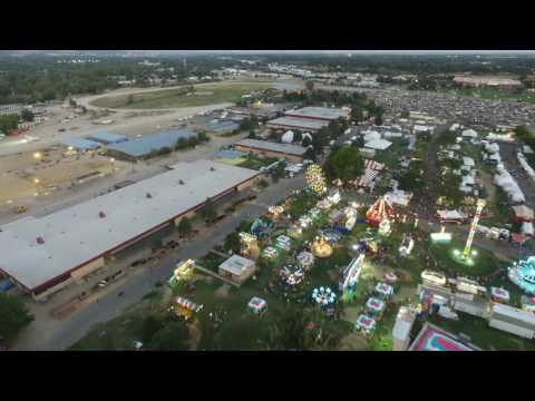 Boise Places #12 - Western County Fair - Peek From Above