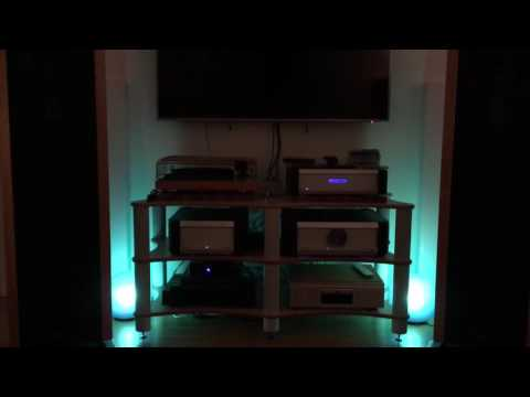Infinity IRS Omega and Musical Fidelity KW 550/A1008