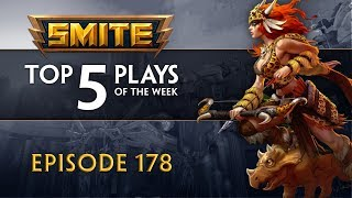 SMITE - Top 5 Plays #178