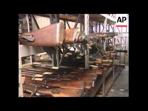 kosovo:-serb-&-kla-weapons-collected