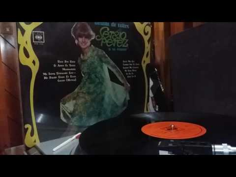 SERGIO PEREZ y su organo '' Carino ''( Honey).. 1/4  @1967