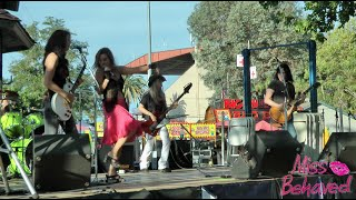 Cover images Miss Behaved at the Alameda County Fair - All Girl Rock Cover Band