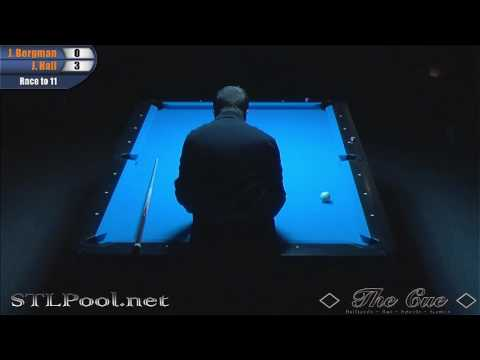 Justin Bergman vs Justin Hall 9B Exhibition The Cue 3-10-17