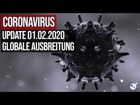Coronavirus - Update 01.02.2020 - Globale Ausbreitung