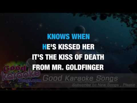 Goldfinger -  Shirley Bassey ( Karaoke Lyrics )