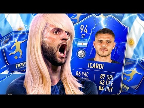 THIS CARD IS CHEAP! 94 TEAM OF THE SEASON MOMENTS ICARDI PLAYER REVIEW! FIFA 19 Ultimate Team
