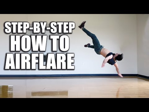 "How to Airflare Tutorial - ""Breakdance"" Powermove"