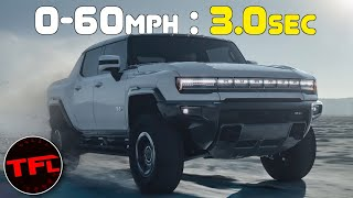 The New GMC Hummer EV Is An All-Electric MONSTER That Costs A Whopping $112,000!