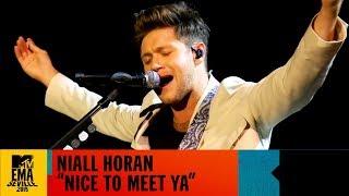 "Niall Horan - ""Nice To Meet Ya"" Live | MTV EMA 2019"