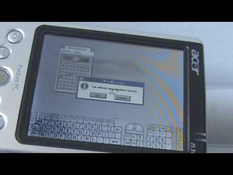 Running Windows 3.1 On an Acer N30 PDA under DOSBox