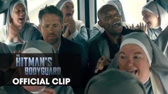 "The Hitman's Bodyguard (2017) Official Clip ""Nuns"" – Ryan Reynolds, Samuel L. Jackson"