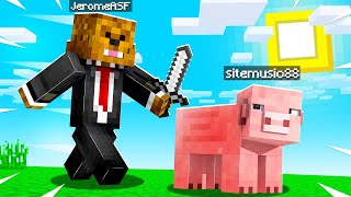 We MORPH Into Animals In Minecraft Hide And Seek | JeromeASF