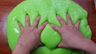 Giant Fluffy Slime No Shaving Cream