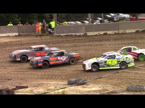 Pure Stock Heat One | Old Bradford Speedway | 8-13-17