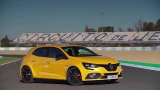 Renault Megane R.S. 2018 on track - full video