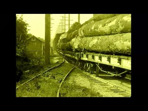 Lumbering in British Columbia - a silent film from circa 1925