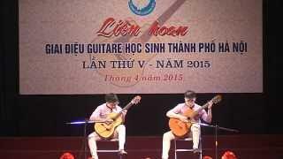 Sơ khảo giai điệu Guitare học sinh Thành phố Hà Nội 5/4/2015