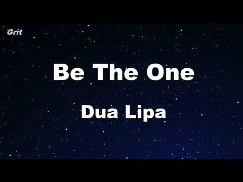 Be The One - Dua Lipa Karaoke 【With Guide Melody】 Instrumental