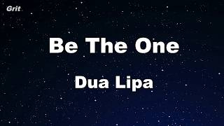 Be The One Dua Lipa Karaoke With Guide Melody Instrumental.mp3