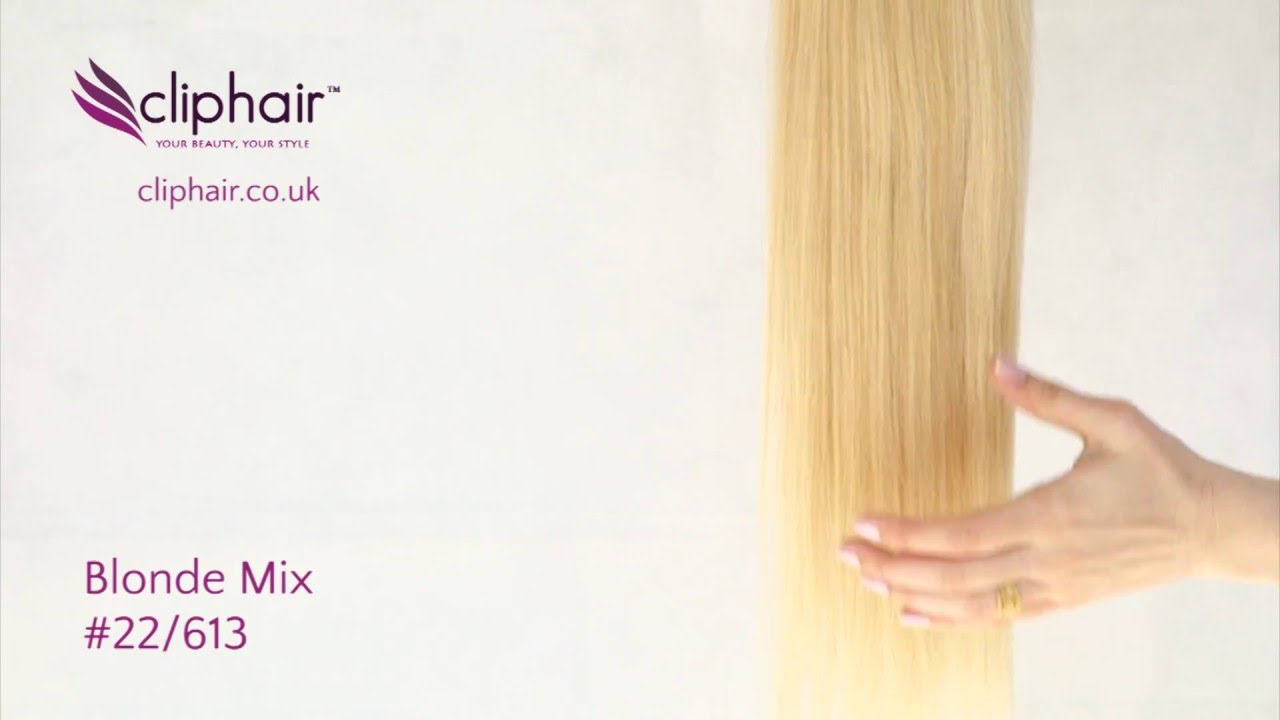 Colour 22613 Blonde Highlighted Hair Extensions By Cliphair Youtube