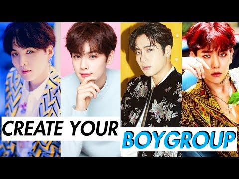 CREATE YOUR KPOP BOYGROUP (2)