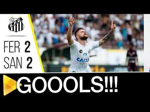 Ferroviária 2 x 2 Santos | GOLS | Paulistão (10/02/18)