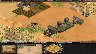 Age of empires II - GAME 1 - WolfSilver vs Kedaxx - BATTLE POUR LE TITRE