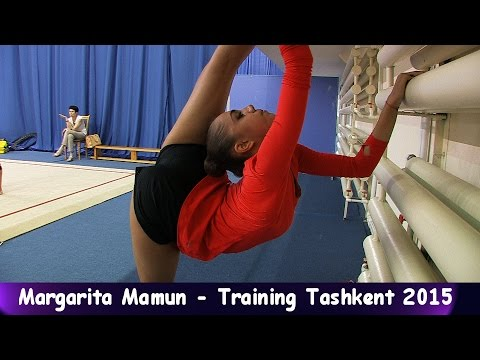 Margarita Mamun - Training World-Cup Tashkent 2015