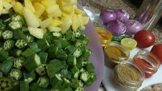 New New New Bhindi Ki Sabzi Recipe In Hindi-भिंडी की जबरदस्त सब्जी -Okra Sabzi-Sabji